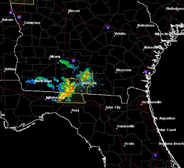 Radar Image for Severe Thunderstorms near Madison, FL at 6/24/2019 7:25 PM EDT