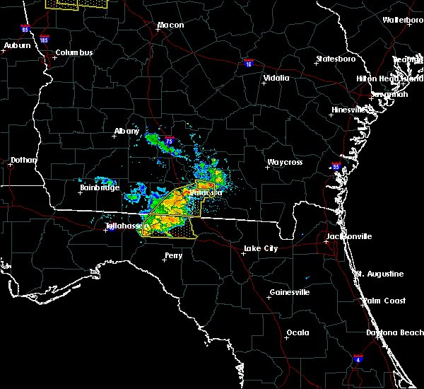 Radar Image for Severe Thunderstorms near Madison, FL at 6/24/2019 7:43 PM EDT