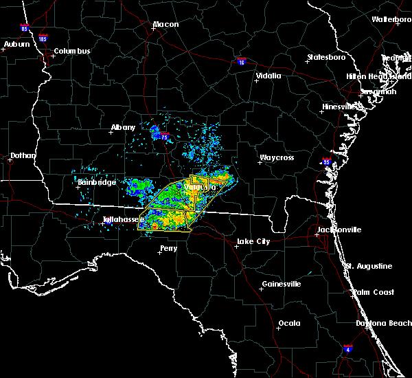 Radar Image for Severe Thunderstorms near Madison, FL at 6/24/2019 8:07 PM EDT