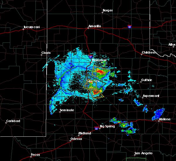 Radar Image for Severe Thunderstorms near Floydada, TX at 6/24/2019 8:54 PM CDT