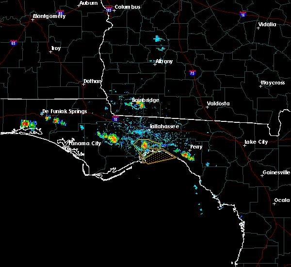 Radar Image for Severe Thunderstorms near St. Marks, FL at 6/25/2019 5:02 PM EDT