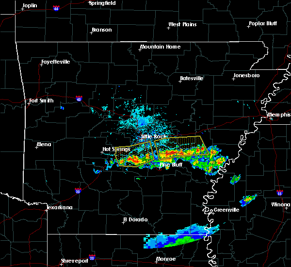 Radar Image for Severe Thunderstorms near Coy, AR at 6/25/2019 6:07 PM CDT