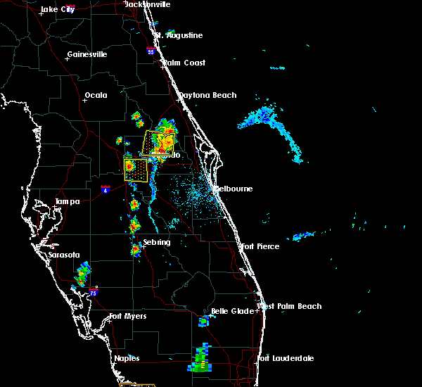 Radar Image for Severe Thunderstorms near Bay Hill, FL at 6/25/2019 7:09 PM EDT