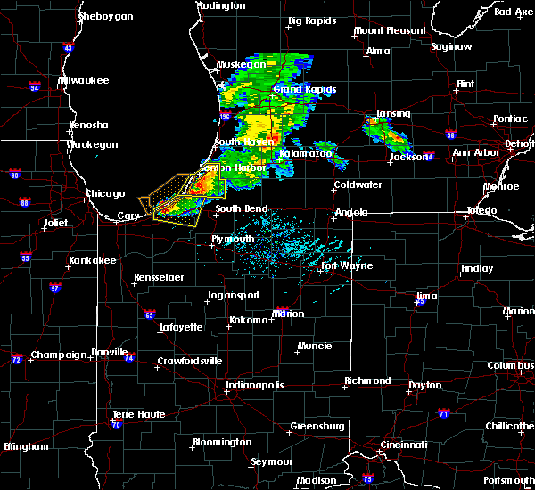 Radar Image for Severe Thunderstorms near Fair Plain, MI at 6/25/2019 7:14 PM EDT