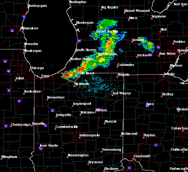 Radar Image for Severe Thunderstorms near Edwardsburg, MI at 6/25/2019 7:47 PM EDT