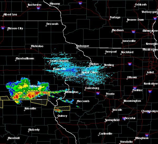 Radar Image for Severe Thunderstorms near West Point, IL at 6/25/2019 6:54 PM CDT