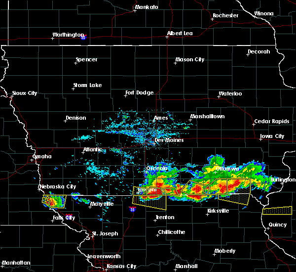 Radar Image for Severe Thunderstorms near Numa, IA at 6/25/2019 7:01 PM CDT
