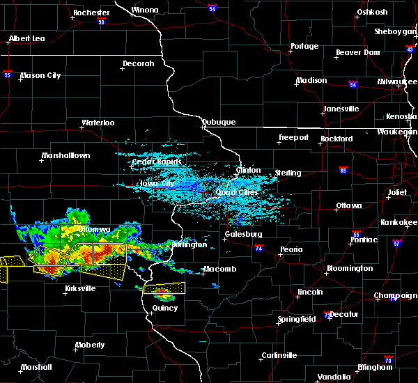 Radar Image for Severe Thunderstorms near West Point, IL at 6/25/2019 7:06 PM CDT