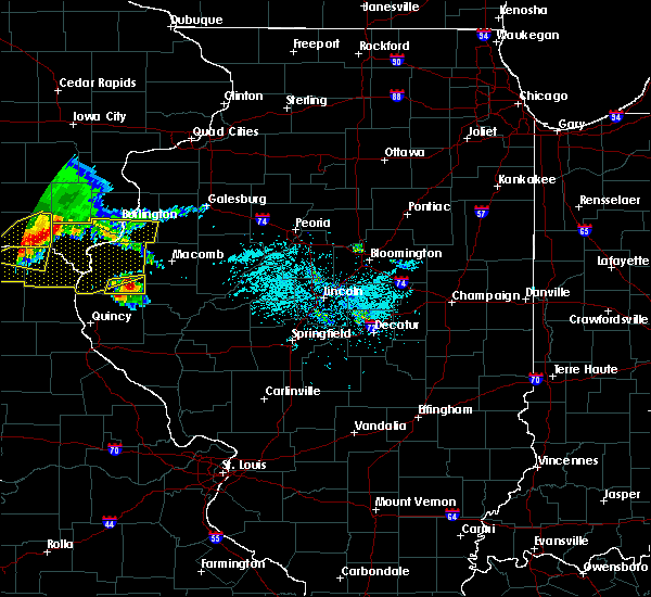 Radar Image for Severe Thunderstorms near West Point, IL at 6/25/2019 7:21 PM CDT