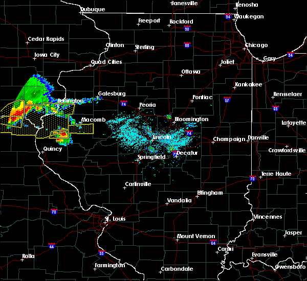 Radar Image for Severe Thunderstorms near Macomb, IL at 6/25/2019 7:25 PM CDT