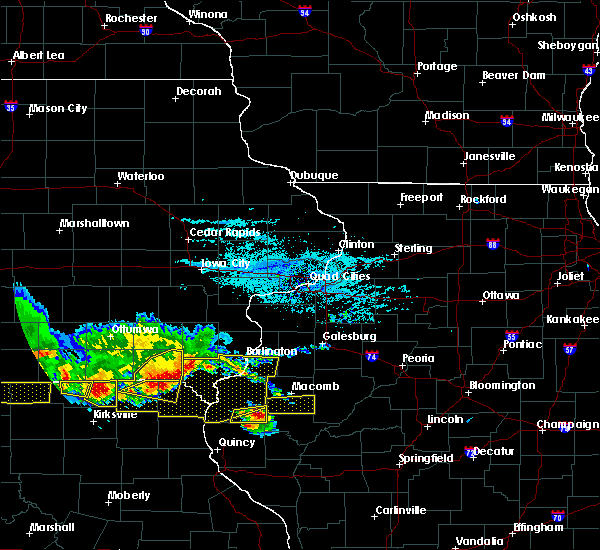 Radar Image for Severe Thunderstorms near Warsaw, IL at 6/25/2019 7:28 PM CDT