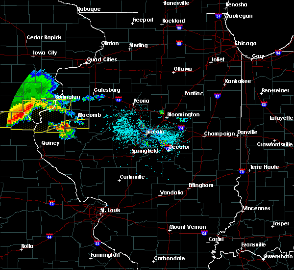 Radar Image for Severe Thunderstorms near Macomb, IL at 6/25/2019 7:35 PM CDT
