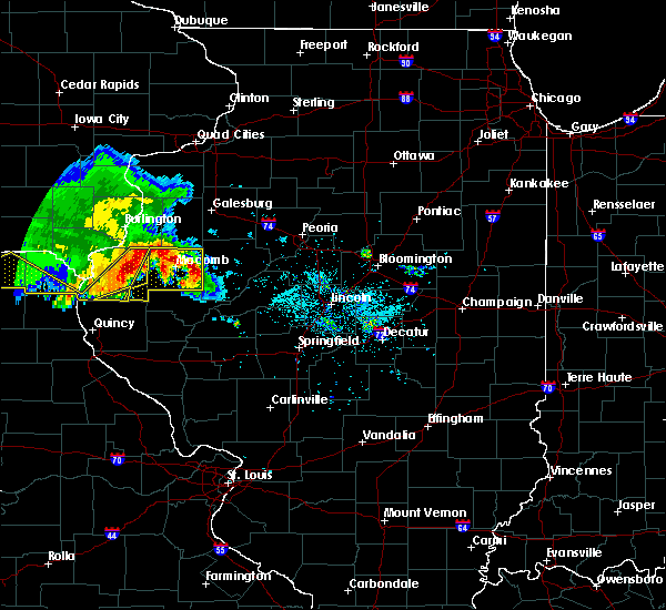 Radar Image for Severe Thunderstorms near West Point, IL at 6/25/2019 8:23 PM CDT