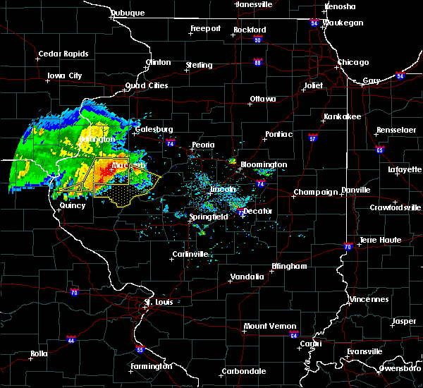 Radar Image for Severe Thunderstorms near West Point, IL at 6/25/2019 8:39 PM CDT