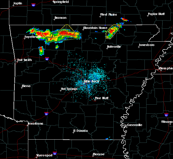Radar Image for Severe Thunderstorms near Hardy, AR at 6/26/2019 2:15 PM CDT