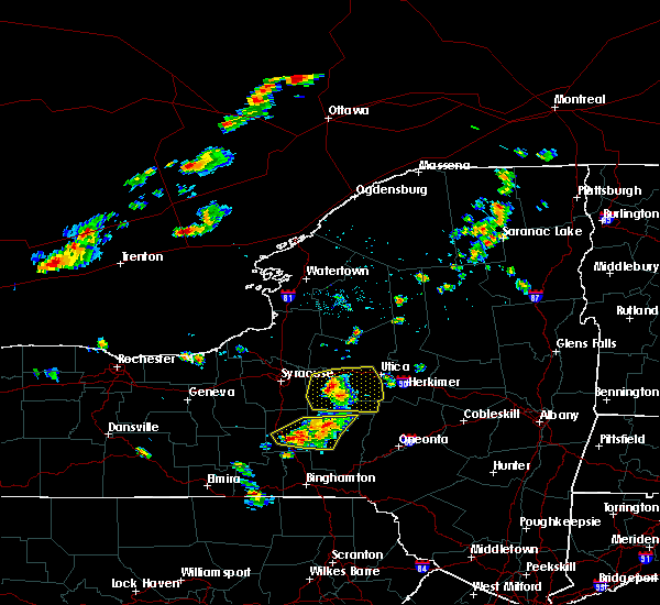 Radar Image for Severe Thunderstorms near Verona, NY at 6/26/2019 3:28 PM EDT