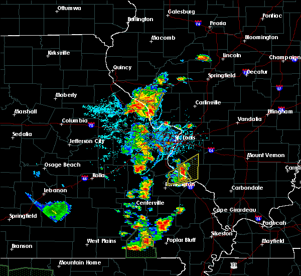 Radar Image for Severe Thunderstorms near Chester, IL at 6/26/2019 2:56 PM CDT