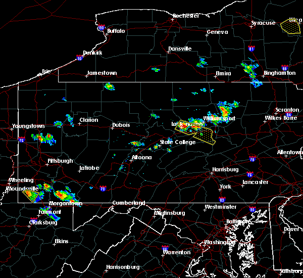 Radar Image for Severe Thunderstorms near Avis, PA at 6/26/2019 3:58 PM EDT