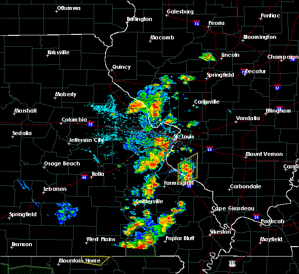 Radar Image for Severe Thunderstorms near Collinsville, IL at 6/26/2019 3:20 PM CDT