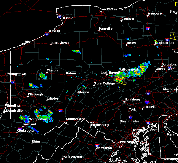 Radar Image for Severe Thunderstorms near Kratzerville, PA at 6/26/2019 4:31 PM EDT