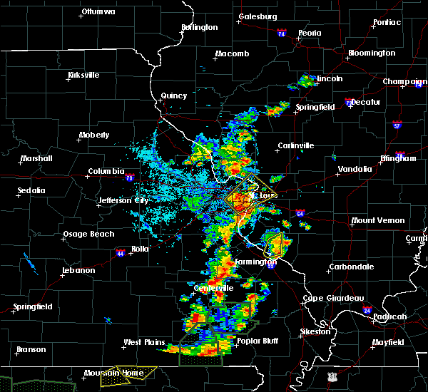 Radar Image for Severe Thunderstorms near Chester, IL at 6/26/2019 3:42 PM CDT