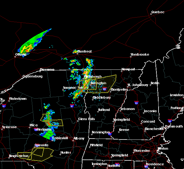 Radar Image for Severe Thunderstorms near South Burlington, VT at 6/26/2019 5:11 PM EDT