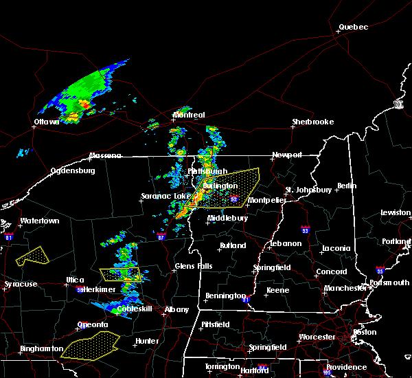 Radar Image for Severe Thunderstorms near Hinesburg, VT at 6/26/2019 5:35 PM EDT