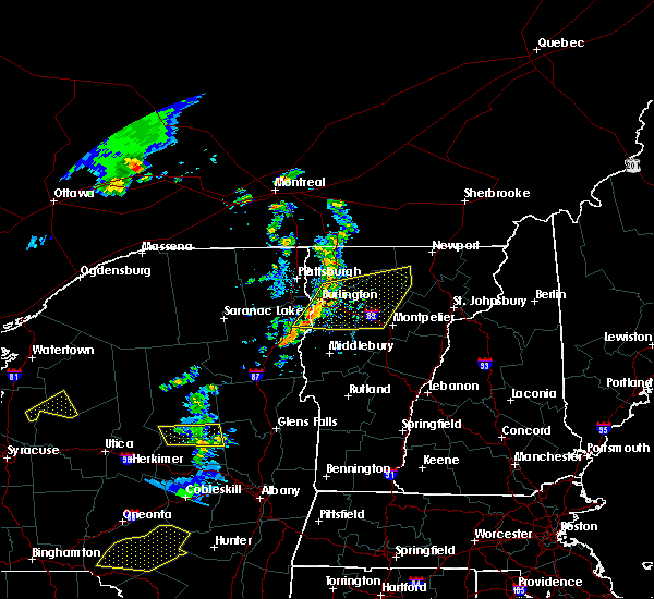 Radar Image for Severe Thunderstorms near South Burlington, VT at 6/26/2019 5:35 PM EDT