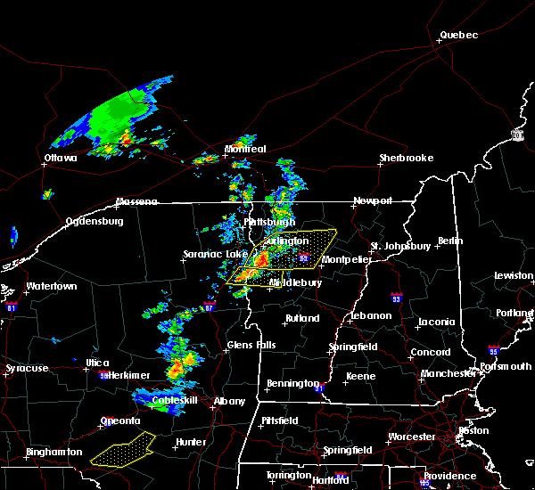 Radar Image for Severe Thunderstorms near Hinesburg, VT at 6/26/2019 5:49 PM EDT