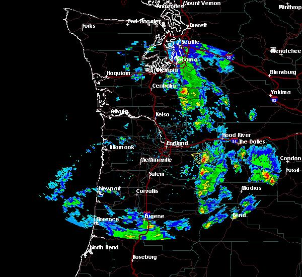Radar Image for Severe Thunderstorms near Mount Hood Village, OR at 6/26/2019 3:14 PM PDT