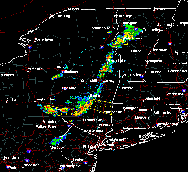 Radar Image for Severe Thunderstorms near Hurley, NY at 6/26/2019 6:50 PM EDT
