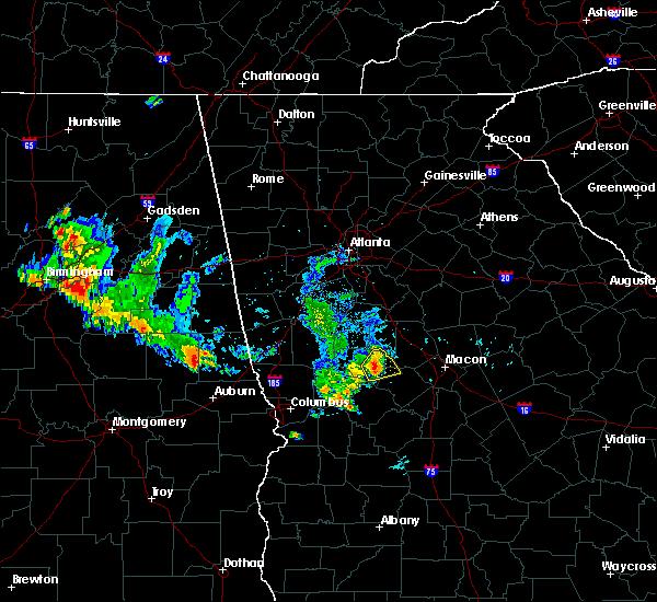 Radar Image for Severe Thunderstorms near Salem, GA at 6/26/2019 7:01 PM EDT