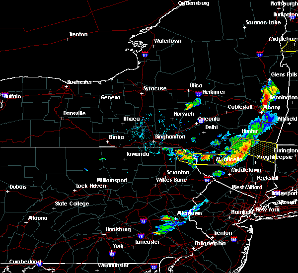 Interactive Hail Maps - Hail Map for Callicoon, NY