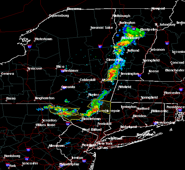 Radar Image for Severe Thunderstorms near Troy, NY at 6/26/2019 7:31 PM EDT