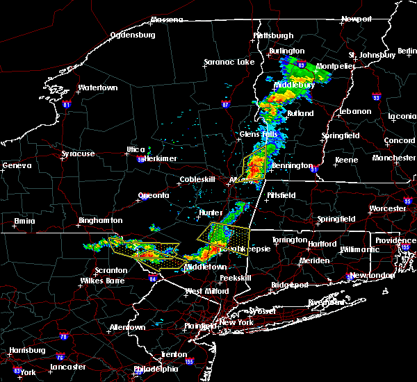 Radar Image for Severe Thunderstorms near Pawling, NY at 6/26/2019 7:35 PM EDT
