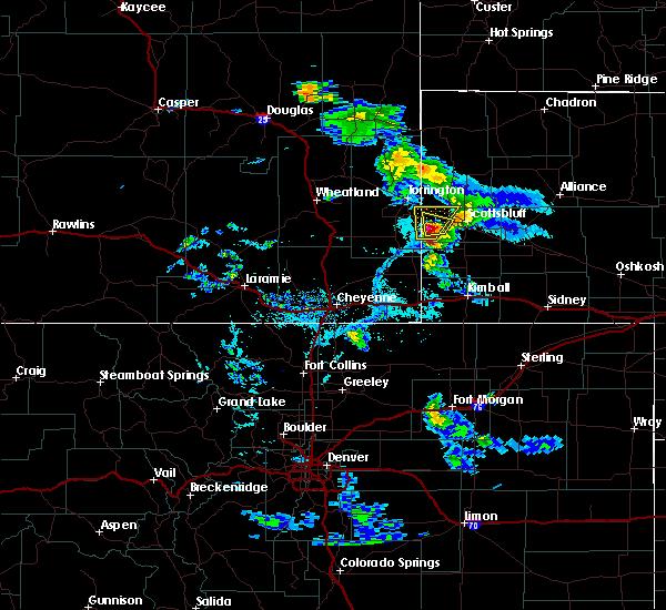 Radar Image for Severe Thunderstorms near Mitchell, NE at 6/26/2019 5:45 PM MDT