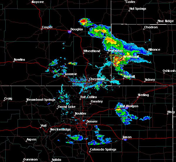 Radar Image for Severe Thunderstorms near Mitchell, NE at 6/26/2019 5:59 PM MDT