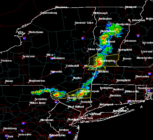Radar Image for Severe Thunderstorms near Pawling, NY at 6/26/2019 8:00 PM EDT