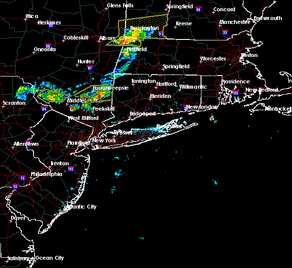 Radar Image for Severe Thunderstorms near Pawling, NY at 6/26/2019 8:16 PM EDT