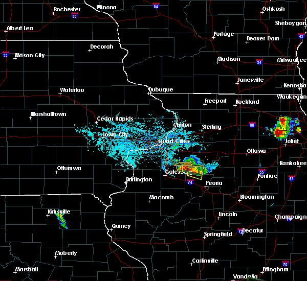 Radar Image for Severe Thunderstorms near Princeville, IL at 6/26/2019 7:27 PM CDT