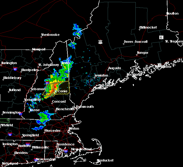 Radar Image for Severe Thunderstorms near Sanbornville, NH at 6/26/2019 11:00 PM EDT