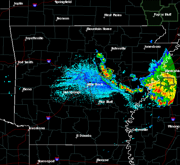 Radar Image for Severe Thunderstorms near Searcy, AR at 6/27/2019 11:52 AM CDT