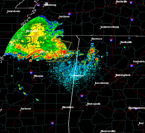 Radar Image for Severe Thunderstorms near Russellville, AL at 6/27/2019 11:55 AM CDT