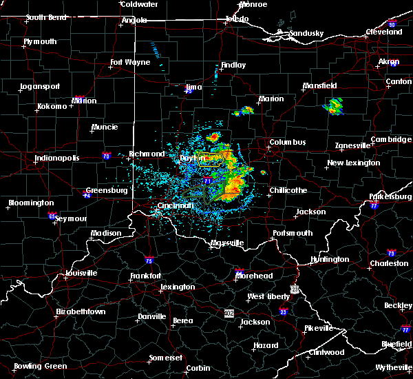 Radar Image for Severe Thunderstorms near Urbana, OH at 6/27/2019 1:31 PM EDT