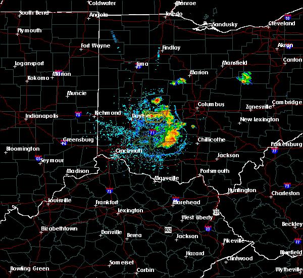 Radar Image for Severe Thunderstorms near Mechanicsburg, OH at 6/27/2019 1:31 PM EDT