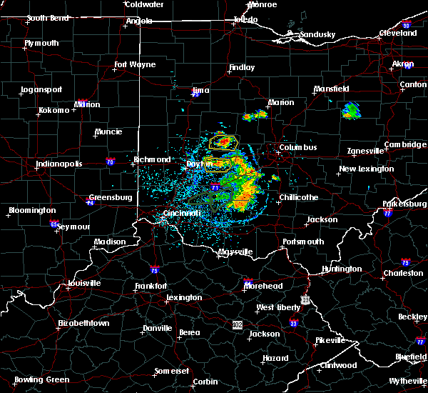 Radar Image for Severe Thunderstorms near Urbana, OH at 6/27/2019 1:41 PM EDT