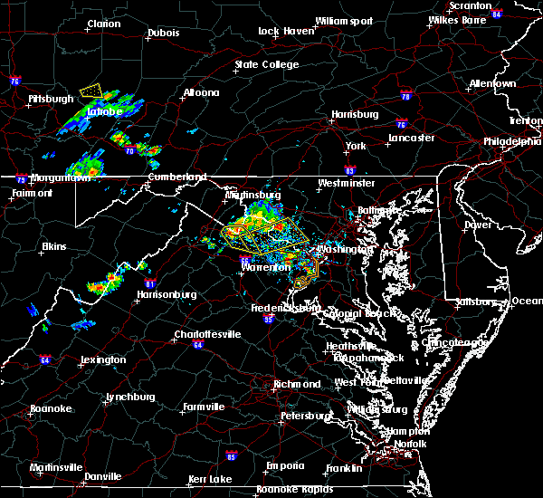 Radar Image for Severe Thunderstorms near Vienna, VA at 6/27/2019 5:39 PM EDT