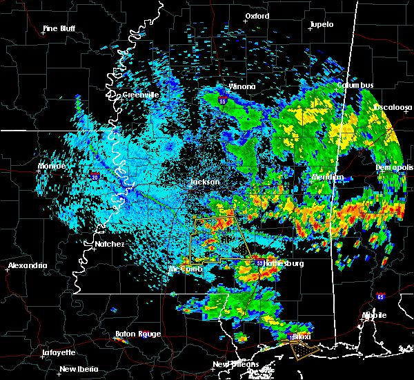 Radar Image for Severe Thunderstorms near Monticello, MS at 6/27/2019 5:00 PM CDT