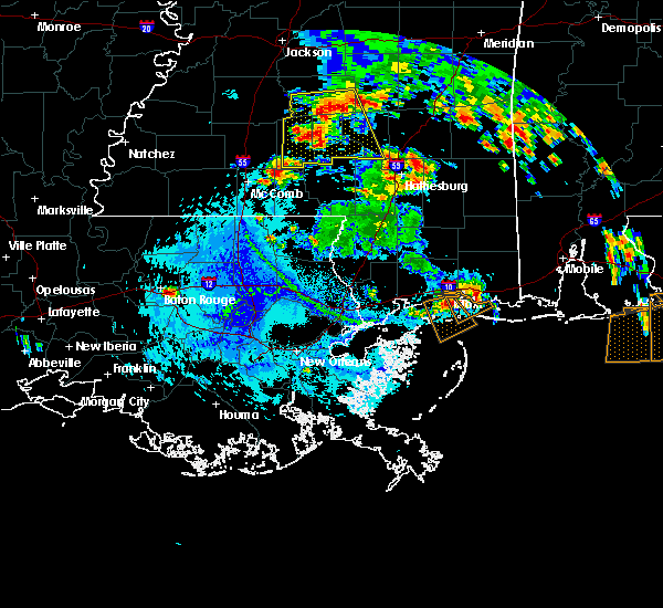 Radar Image for Severe Thunderstorms near Baton Rouge, LA at 6/27/2019 5:19 PM CDT
