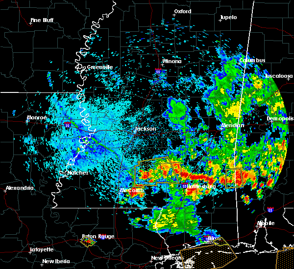 Radar Image for Severe Thunderstorms near Monticello, MS at 6/27/2019 5:41 PM CDT